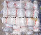 白い釣り道具のナイロン単繊維の漁網