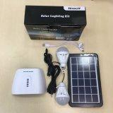 Mini sistema de energia solar portátil com a bateria de lítio 7.4V2.2ah