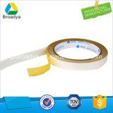 白いカラー支払能力がある付着力の二重味方されたティッシュテープ(DTS10G-11)