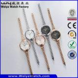 Polshorloges van de Dames van het Kwarts van het Horloge van de Legering van de manier de Toevallige (wy-071B)