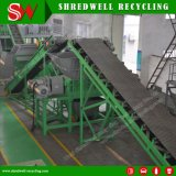 Shredder industrial do metal para recicl o corpo de carro da sucata