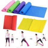 Correa de goma de la venda de la aptitud de Crossfit del entrenamiento elástico del ejercicio del entrenamiento de la venda de la resistencia del estiramiento de Pilates de la yoga de la alta calidad el 1.5m