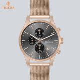 Soem-Uhr 72050 der wasserdichten Edelstahl-Quarz-Armbanduhr-Männer