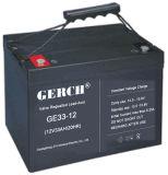 12V 33ah LEIDEN van de Noodsituatie van de Bank van de Macht van de Batterij van het Zonnepaneel van de Batterij van de Fabrikant UPS van de Batterij van het Lood VRLA van het Onderhoud Vrij Zuur Licht