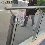 Poste de cristal del diseño del pasamano de China SS316 para la decoración