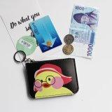 新しいデザインアヒルの漫画の女性の硬貨の財布のお金の札入れ