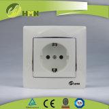 CE/TUV/CB Certified Европейский стандарт красочные пластину 1 белый разъем Schuko дисковых батарей