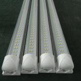 Luz caliente del tubo de la venta SMD2835 2400m m 60W los 8FT T8 LED