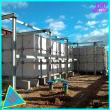 Réservoir d'eau en plastique renforcé de fibre