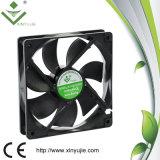 Ventilateur de refroidissement coloré 120X120X25 de couleur verte de la livraison rapide de Xj12025 12cm