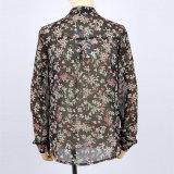 Nouveau design élégant décontracté Blouses chemises imprimées