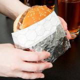 알루미늄 호일 햄버거 종이와 음식 포장지