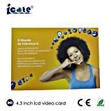 A5 рекламируя видео- карточку с 4.3 дюймами