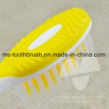Cepillo de dientes adulto de la cerda suave popular de PBT con el certificado del FDA aprobado