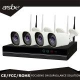 1080P 2.0 câmara de vigilância sem fio do CCTV do IP do sistema de segurança do CCTV do jogo do PM 4CH WiFi NVR
