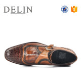 Zapatos de moda para hombres con cuero genuino