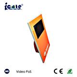 Tarjeta video de calidad superior del LCD de 7 pulgadas/tarjeta de felicitación video/tarjeta de visita video/tarjeta video de la invitación