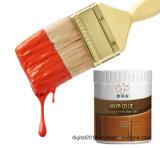 يتيح بناء فرشاة لون طلية لأنّ خشب
