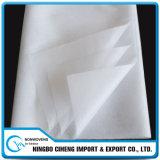Tela no tejida pegada química de Dacron para el material del papel del enrollamiento