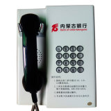 Teléfono de servicios Auto-Dial de batería del teléfono Knzd-31 de la caja del teléfono de VoIP del microteléfono