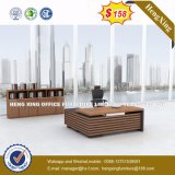Bureau en bois de chambre de hôtel de Tableau exécutif de meubles de bureau de mélamine (HX-6N013)