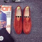Cuatro zapatos ocasionales del desgaste del nuevo del estilo de las estaciones ante de la manera de los hombres diarios de conducción al por mayor del desgaste