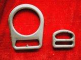 索具のハードウェアの付属品によって電流を通される鋼鉄安全バックルの持ち上がるマスターのDリング