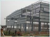 Fábrica de construcción prefabricados de estructura de acero de la luz de la capacidad para el Taller de almacén