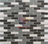 Marmo Strip e Crystal Mosaico (CFS660)