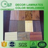 Laminado de madera del grano/Laminate/HPL de alta presión decorativo