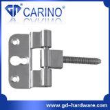 (HY860) Charnière de porte galvanisée de charnière de vis