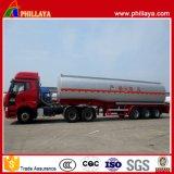 De carburant /huile de réservoir camion-citerne diesel d'acier du carbone de remorque semi