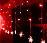 [2إكس3م] خارجيّة زخرفة [بفك] سلك عطلة [لد] عيد ميلاد المسيح زخرفة ضوء