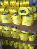 Буксировочный трос со стальной крюк желтый цвет ремешка