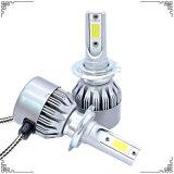 チップ穂軸LED車ライトおよびLEDのドライビング・ライト(4500lm H4 H7 9005 9006 H13 H1 H3)が付いている高品質車LEDのヘッドライト