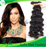 Perruque de cheveux vierges de l'exil de cheveux remy humain malien de haute qualité