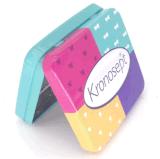 Colorida Caja Rectangular Caja de caramelos de goma