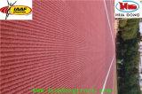 Natürliches Material-vorfabrizierte laufende Gummispur