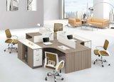 Croix moderne bureau de poste de travail modulaire standard pour 4 personne (SZ-WST629)