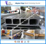 Niedriger Profil-Produktionszweig des Energieverbrauch-WPC, WPC Strangpresßling-Maschine für Zaun