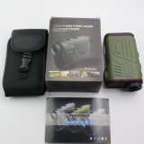 Erains Tac Optics Handheld W600A Hunting 6X22 600m Long Distance Laser Golf Alcance do Rangefinder Altura de velocidade Altura Medições