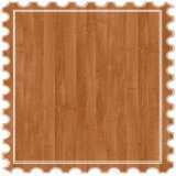Suelo laminado estándar de carb mosaico de madera flotante para el hogar decoración de tierra