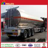 Barato de ligas de alumínio de 3 eixos semi reboque tanque para transporte de água/Leite