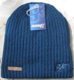 昇進のカスタマイズされた刺繍のロゴのしまのある暖かい帽子