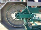 De Horizontale Houten Lintzaag van de dieselmotor