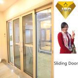 Heißer Verkaufs-Aluminiumflügelfenster-Fenster mit Tür für Landhaus-Haus