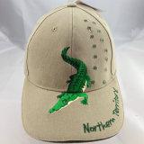 Wholsaleの正常なデザインによってカスタマイズされるロゴの野球のスポーツの帽子
