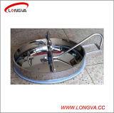圧力の楕円の衛生ステンレス鋼タンクマンホールカバー