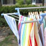 O X-Tipo do aço inoxidável veste gancho de secagem