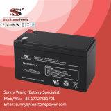 Batterie rechargeable exempte d'entretien scellée 12V 8ah d'UPS de mémoire